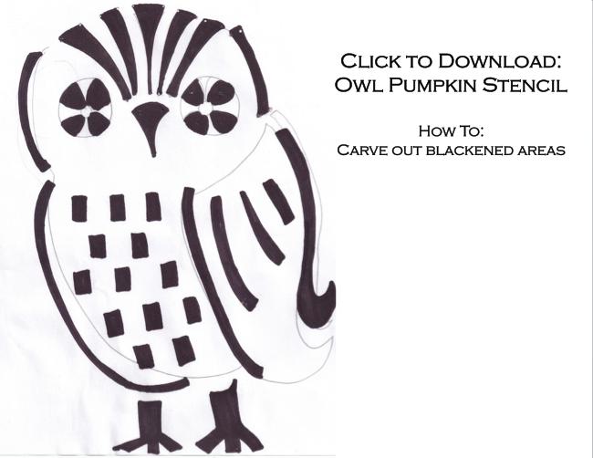 Excellent pumpkin template owl gallery resume ideas namanasa adorable large owl stencil pumpkin pronofoot35fo Choice Image