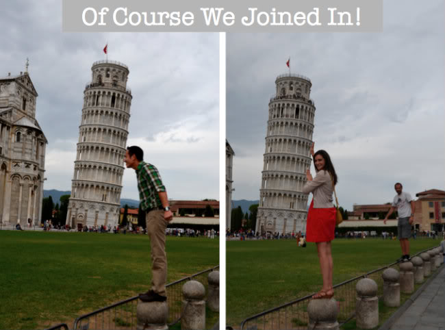 Pisa Italy Silly Leaning Tower
