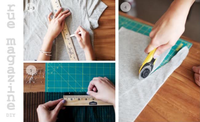 Rue Magazine Bow Shirt DIY Hello Cupcake