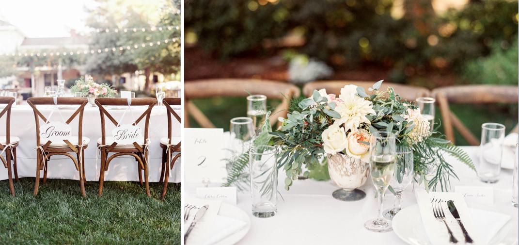 Romantic Wine Country Wedding
