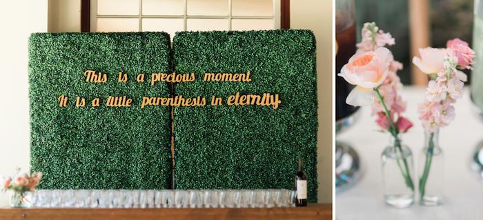 Wedding Backdrop DIY Bar