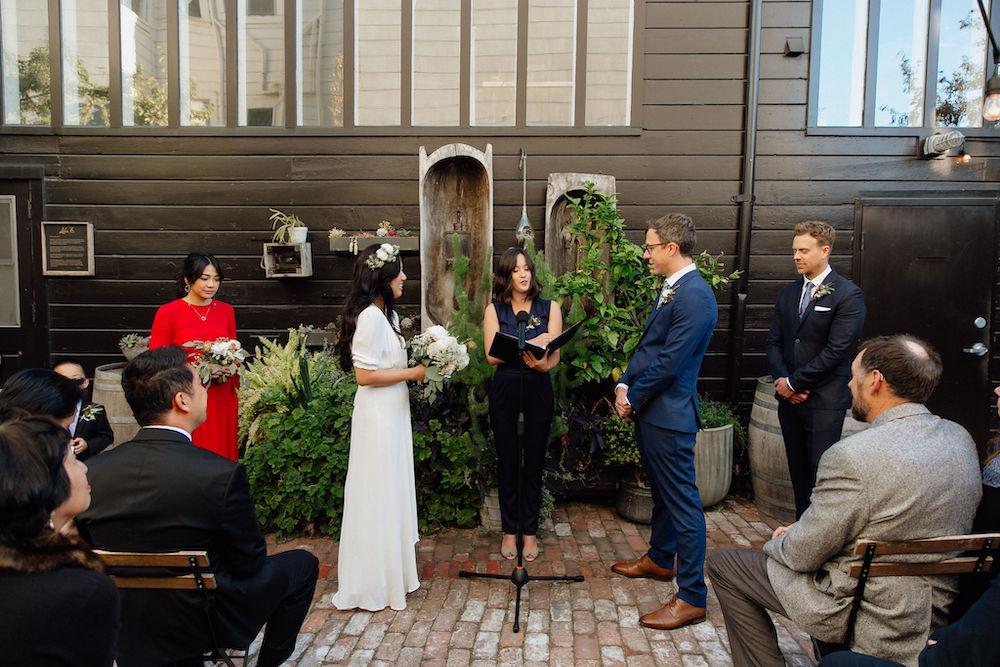 Stable Cafe Wedding in San Francisco, California