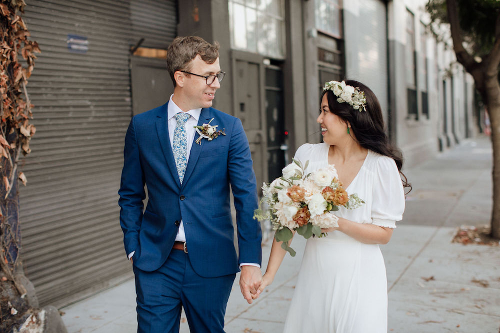 Stable Cafe Wedding in San Francisco, California